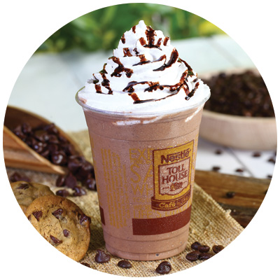 Iced Frappe Coffee drink